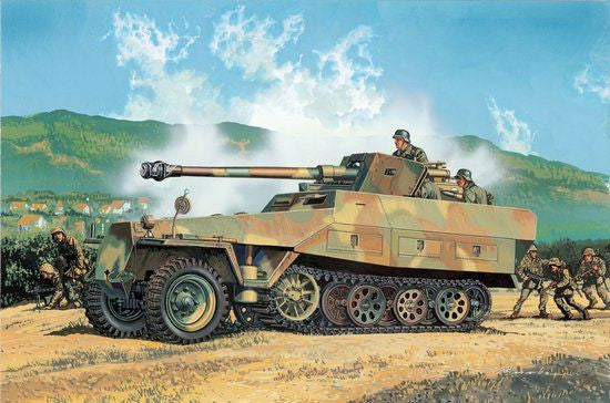 Dragon 1/35 Sd.Kfz. 251/22 Ausf. D w/7.5cm PaK 40 and BONUS FEATURES  | 6248