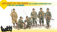 "Dragon 1/35 ""Advance To The Rhine"" - U.S. 1st Army at Remagen 1945 