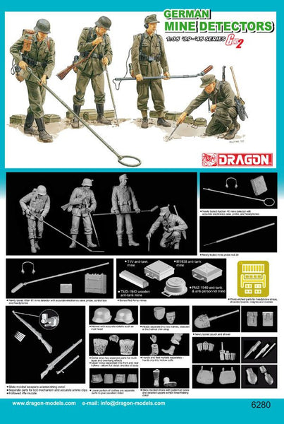 Dragon 1/35 German Mine Detectors | 6280