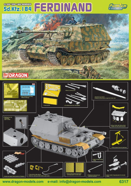 Dragon 1/35 Sd.Kfz.184 Ferdinand | 6317