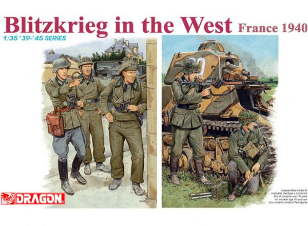 Dragon 1/35 Blitzkrieg in the West (France 1940) | 6347