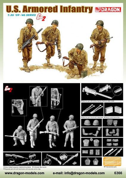 Dragon 1/35 U.S. Armored Infantry | 6366