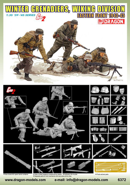 Dragon 1/35 Winter Grenadiers, Wiking Division (Eastern Front 1943-45) | 6372