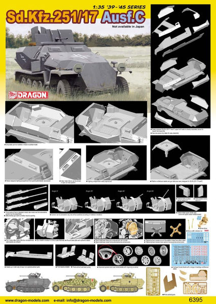 Dragon 1/35 Sd.Kfz.251/17 Ausf.C | 6395