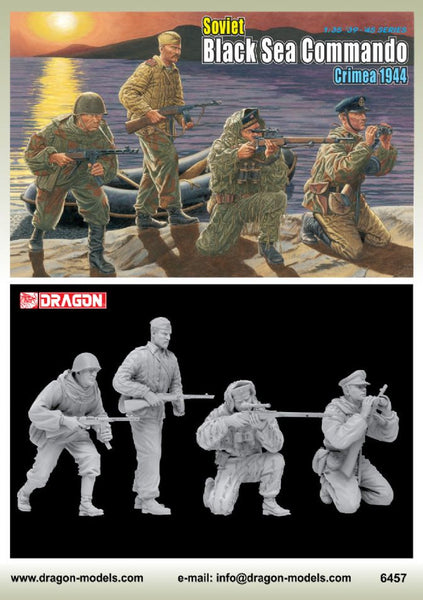 Dragon 1/35 Soviet Black Sea Commando (Crimea 1944) | 6457