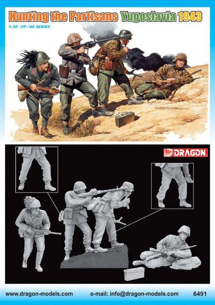 "Dragon 1/35 ""Hunting the Partisans"" (Yugoslavia 1943) 