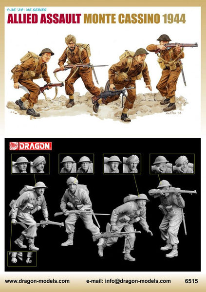 Dragon 1/35 Allied Assault (Monte Cassino 1944) | 6515