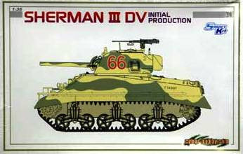 Dragon 1/35 Sherman Mk.III DV Initial Production | 6527