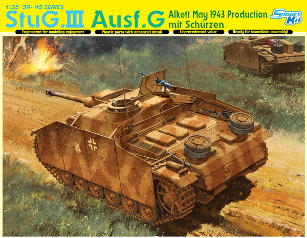 Dragon 1/35 StuG.III Ausf.G May 1943 Production mit Schurzen  | 6578