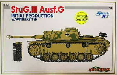 Dragon 1/35 StuG.III Ausf.G Initial Production w/Winterketten | 6598