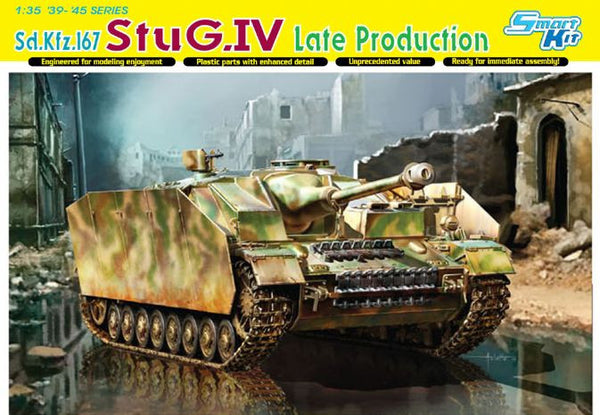 Dragon 1/35 Sd.Kfz.167 StuG.IV Late Production | 6612