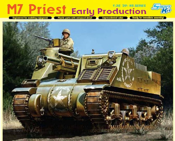 Dragon 1/35 M7 Priest Early Production | 6627