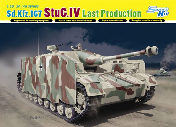 Dragon 1/35 Sd.Kfz.167 StuG.IV Last Production | 6647