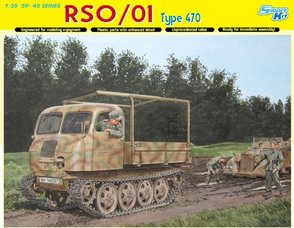 Dragon 1/35 RSO/01 Type 470 | 6691
