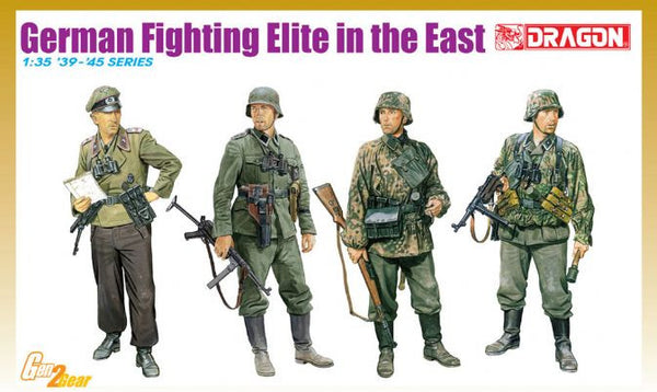 Dragon 1/35 German Fighting Elite in the East | 6692