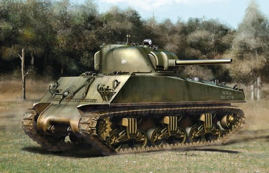 Dragon 1/35 Sherman M4A3 75(W) ETO | 6698