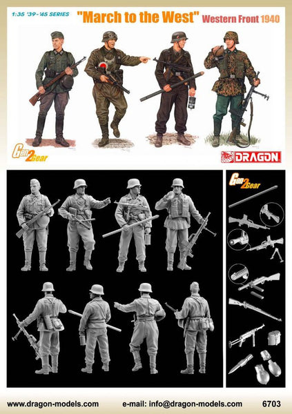 "Dragon 1/35 ""March to the West"" (Western Front 1940) 