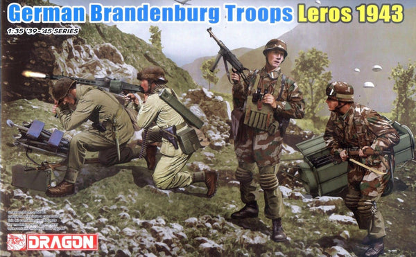 Dragon 1/35 WWII German Brandenburg Troops (Leros 1943) | 6743