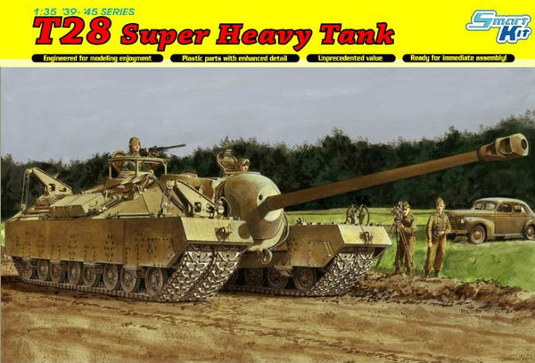 Dragon 1/35 T28 Super Heavy Tank | 6750