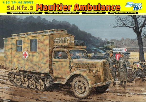 Dragon 1/35 Sd.Kfz.3 Maultier Ambulance | 6766