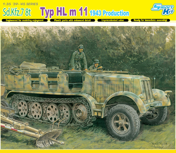 Dragon 1/35 Sd.Kfz.7 8(t) Typ HL m 11 1943 Production | 6794