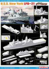 Dragon 1/700 U.S.S. New York LPD-21  | DRA7110