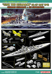 "Dragon 1/700 ""Sink the Bismarck"" May 26-27, 1941 - German Bismarck + RN Swordfish  
