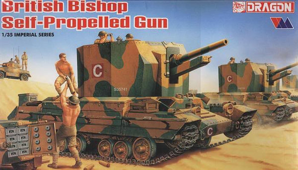 Dragon 1/35 British Bishop Self-Propelled Gun | 9025