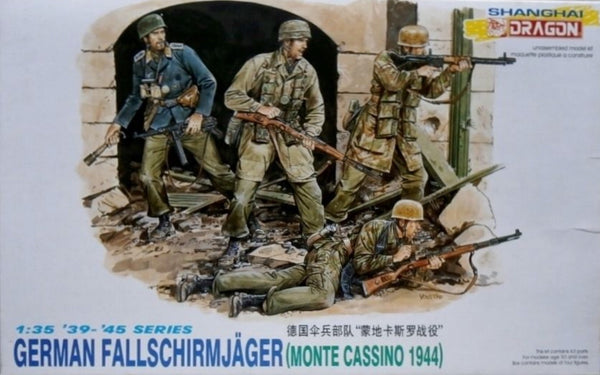Dragon 1/35 German Fallschirmjager Monte Cassino 1944 | 6005