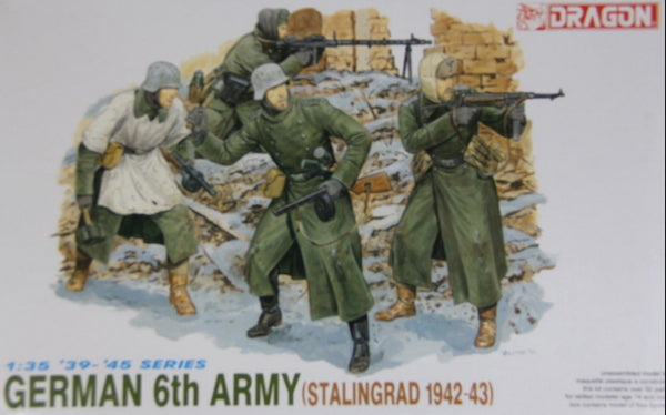 Dragon 1/35 German Infantry 6th Army Stalingrad '42-'43 (4 Figures) | 6017