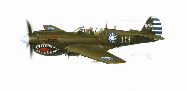 Eduard 1/48 P-40N/ M Shark mouth over China Limited Edition | 1113