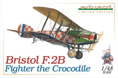 Eduard 1/48 Bristol F.2B Fighter THE CROCODILE Limited Edition | 1127