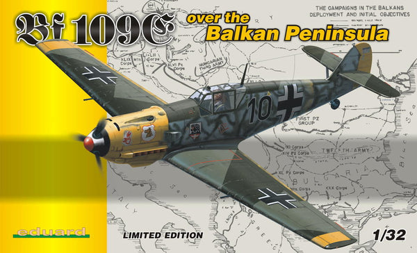 Eduard 1/32 Bf 109E over the BALKAN PENINSULA | 1156