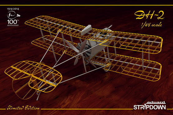 Eduard 1/48 DH-2 Stripdown LIMITED EDITION | 1185