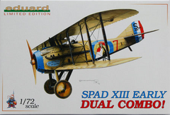 Eduard 1/72 Spad XIII early DUAL COMBO | 2105