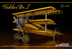 Eduard 1/72 Fokker Dr. I STRIPDOWN | 2114