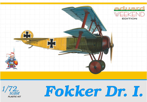 Eduard 1/72 Fokker Dr. I WEEKEND EDITION | 7405