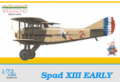 Eduard 1/72 Spad XIII Early WEEKEND EDITION | 7411