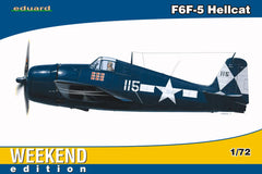 Eduard 1/72 F6F-5 Hellcat WEEKEND EDITION | 7415