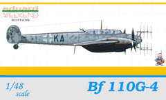 Eduard 1/48 Bf 110G-4 WEEKEND EDITION | 8404
