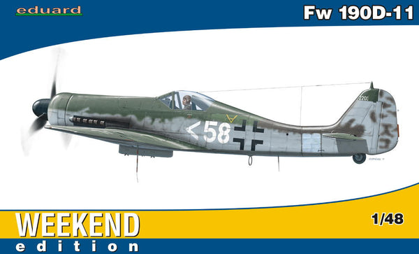 Eduard 1/48 Fw 190 D-11 WEEKEND EDITION | 84103