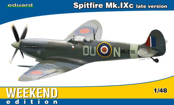 Eduard 1/48 Spitfire Mk. IXc Late Version | 84136
