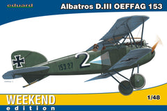 Eduard 1/48 Albatros D. III OEFFAG 153 WEEKEND EDITION | 84150