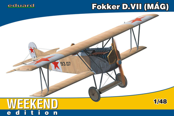 Eduard 1/48 Fokker D. VII MAG WEEKEND EDITION | 84156