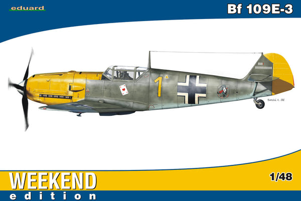 Eduard 1/48 Bf 109E-3 Weekend Edition | 84165