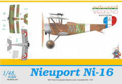 Eduard 1/48 Nieuport Ni-16 MAX WEEKEND EDITION | 8426