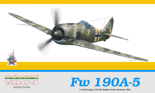 Eduard 1/48 Fw 190 A-5 WEEKEND EDITION | 8430