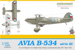 Eduard 1/48 Avia B-534 III serie Weekend Edition | 8474