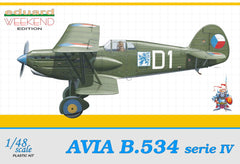 Eduard 1/48 Avia B-534 IV serie WEEKEND EDITION | 8475