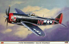 "Hasegawa 1/32 P-47M Thunderbolt ""56Th Fg Wolfpack""  08181"